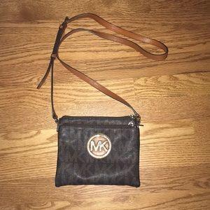 USED Michael Kors crossbody purse